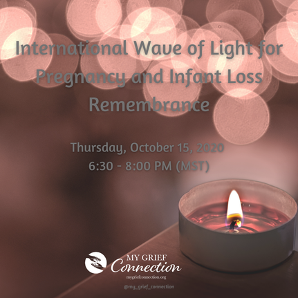 PictureInternational Wave of Light for Pregnancy and Infant Loss Remembrance