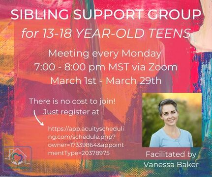 Sibling Support Group Hosted By Eric's House