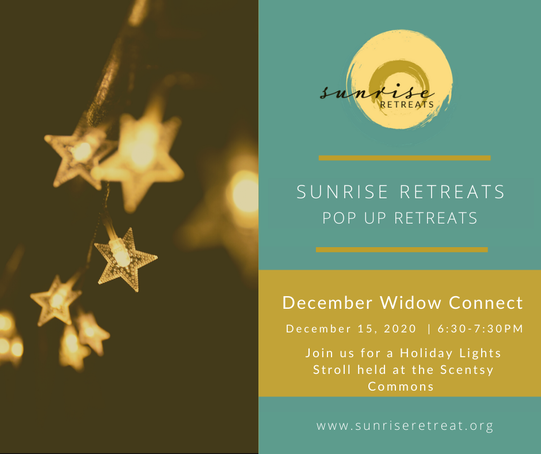 Sunrise Retreats - Holiday Lights Stroll at Scentsy Commons - 15 Dec 2020