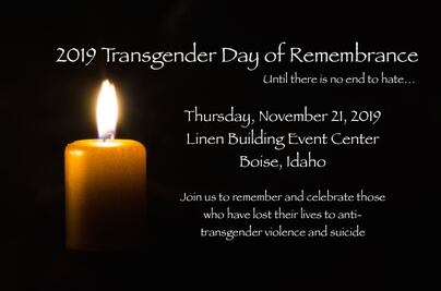 2019 Transgender Day of Remembrance